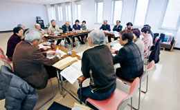充実してきた石山総支部の運営委員会