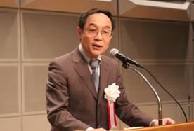 ▲主催者挨拶:髙橋泰行(前)会長理事