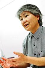 事務長の山根幸子さん