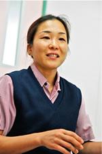 介護職の谷亜季子さん