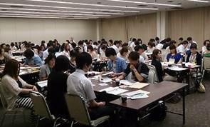 ▲新入職員研修会の様子(7月開催)