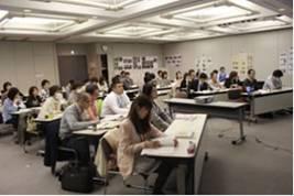 ▲2012年度第3回導入プログラムとりくみ交流会と2013年度キックオフ集会の様子▲