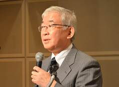 ▲講師:武藤正樹教授