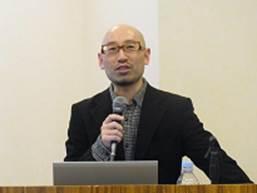 ▲記念講演: 國森 康弘さん