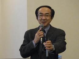 ▲学習講演:高橋 智憲 専務理事