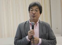 ▲学習講演:隈本邦彦教授