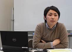 ▲講師:小山ソーシャルワ-カー