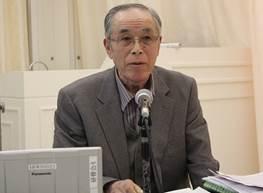 ▲報告:菊池 善次郎支部長(東京保健生協)