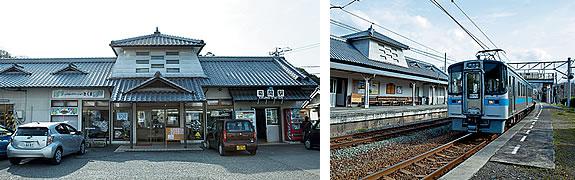 無人化した菊間駅