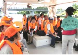 ▲移動分科会「冨岩運河と北前船」