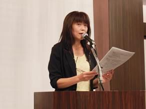 ▲生活協同組合コープあおもり 三浦 雅子組織活動部部長