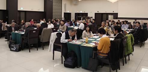 ▲「まちづくり活動責任者会議」の様子(11月27・28日開催済)