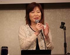 ▲記念講演:小山 珠美理事長