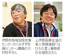 大村妙子さん、古畑克己さん