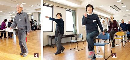加藤さん、「ころばん体操」