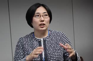 ▲発表する増山由紀子医師