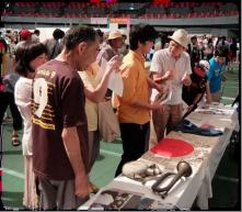 福山医療生協の戦争についての展示