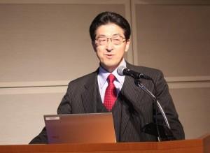 ▲斎藤 民紀常務理事(総務経営委員長)