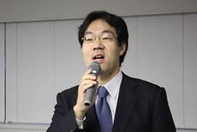 ▲講演中の田口 智博医師