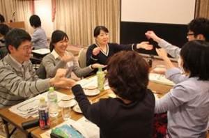 ▲お皿と団子ゲーム
