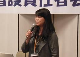 ▲報告:大城 真千子看護委員長