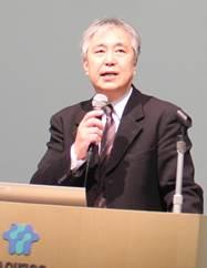 ▲基調報告:松本弘道常務理事