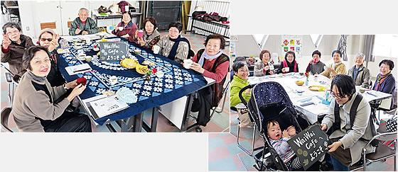 谷山東支部がコープかごしまの店舗で「WaiWaiカフェ」を開催