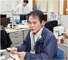 鹿児島市長寿あんしん相談センター本部 業務課長の堀之内克行さん