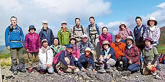 昨年の「秋田駒ヶ岳登山」の様子