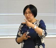 ▲後半講師:増山 由紀子所長