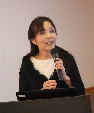 ▲実践報告:杉岡 眞由美さん